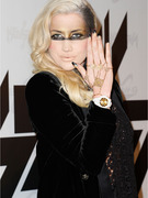 Ke$ha's Goes Wild with Warrior Look