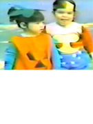 Kim & Kourtney Kardashian -- See Vintage Halloween Video from 1982!