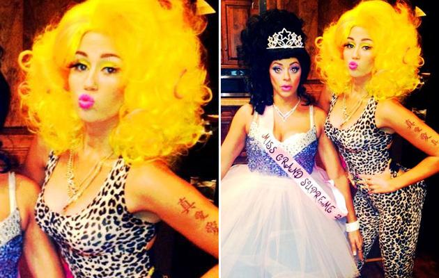 Check Out Miley Cyrus' Awesome Nicki Minaj Costume