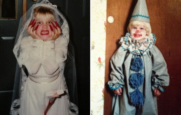 P!nk Shares Old School Halloween Costume Photos
