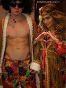 Jennifer Lopez &amp; Casper Smart Reveal Sexy Halloween Costumes