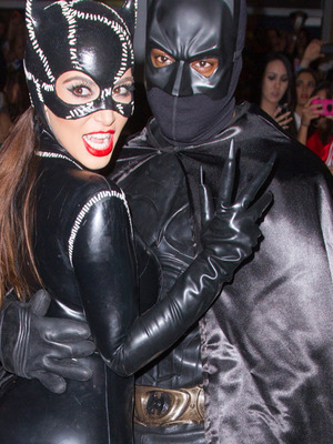 Halloween 2012: The Kardashians (And Kanye!) Dress for Batman Bash!