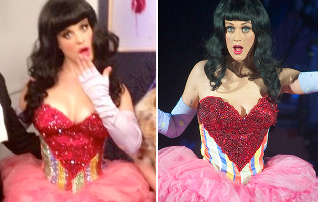 Kelly Osbourne Wears Katy Perry's Clothes for Halloween