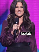 "Khloe Kardashian Has Wardrobe Malfunction on ""X Factor!"""