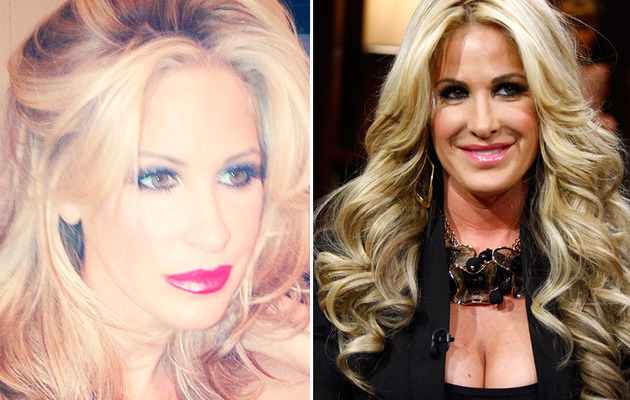 Kim Zolciak Shows Off Real Hair -- See Her Without a Wig!