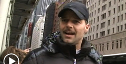 Ricky Martin SUPPORTS NYC Marathon -- 'The Show Must Go On!'