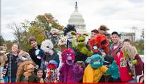 Million Puppet March -- Puppets Invade DC ... Don't Cut Our Strings!!!
