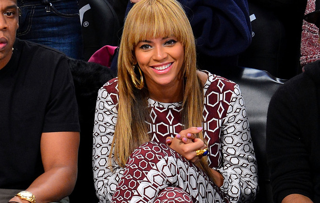 Beyonce Gets Bangs -- Like the New 'Do?