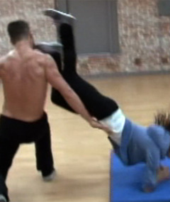 "Video: Kelly Monaco Face Plants on ""Dancing with the Stars"""