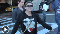 Carrie Fisher -- Damn Right I Wanna Be in the New 'Star Wars'