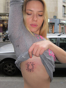"Scarlett Johansson: See Her ""Lucky"" New Tattoo!"