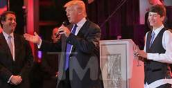 Donald Trump Hits NYC Bar Mitzvah -- You're My Jewprentice