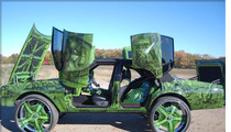 Incredible Hulk -- CRAZY Green Drug Dealer Car Hits Auction Block