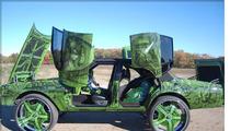 Incredible Hulk -- CRAZY Green Drug Dealer Car Hits Auction Block