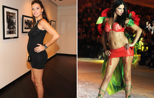 Adriana Lima Walks Runway Two Months After Giving Birth