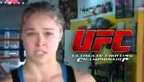 Ronda Rousey -- Becomes 1st Female Fighter to Join UFC