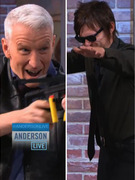 "Video: Anderson Cooper Gets ""Walking Dead"" Crossbow Training"