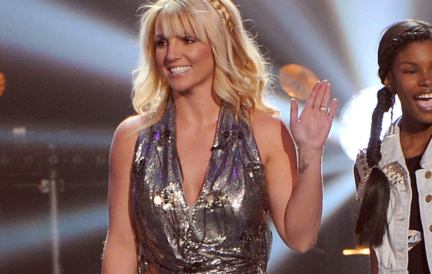 "Britney Spears Sizzles In Belly-Baring Outfits on ""The X Factor"""
