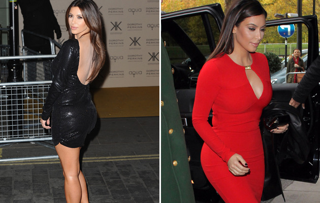 Kim Kardashian -- Red Hot in the U.K.