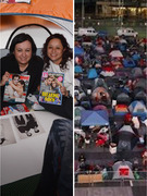 """Twilight"" Fans Camp Out Five Days Before ""Breaking Dawn"" Premiere!"