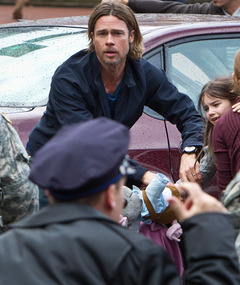 Brad Pitt Battles Zombie Hordes In &quot;World War Z&quot; Trailer