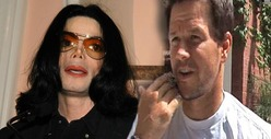 Michael Jackson & Mark Wahlberg -- Fought Over 9/11 Escape Jet