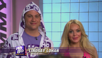 Lindsay Lohan Joins Jimmy Kimmel's HoBo Club
