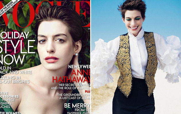 "Anne Hathaway Talks Weight Loss, Short Hair and ""Les Miserables!"""