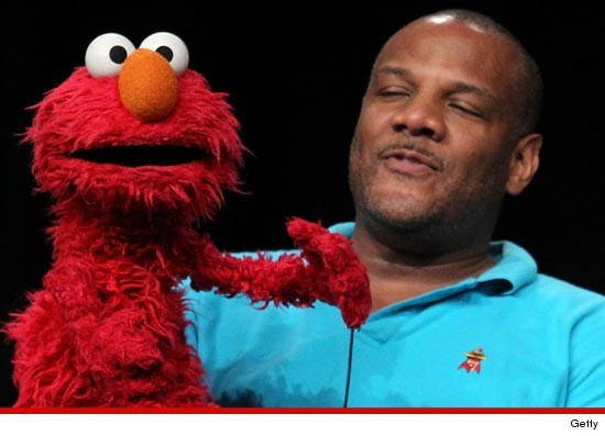 Kevin Clash, the voice of Elmo