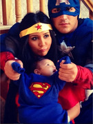 Snooki Finally Shares Superhero Halloween Pic of Baby Lorenzo