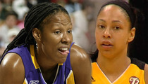 WNBA Superstar Chamique Holdsclaw -- Allegedly FIRES GUN in Spat with Ex-GF