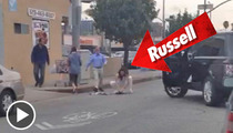 Russell Brand -- Homeless Man Trash Picker-Upper [VIDEO]