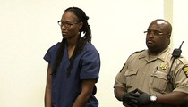 Chamique Holdsclaw RELEASED ... With Ankle Bracelet