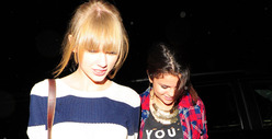 Taylor Swift &amp; Selena Gomez -- The Lonely Hearts Club