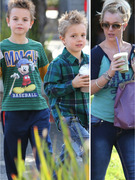 Britney Spears Spends Time With Her Boys!