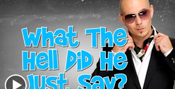 Pitbull -- Speaking In Tongues ... TWO of &#039;Em