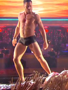 Val Chmerkovskiy Strips to Speedos on &quot;Dancing with the Stars&quot;