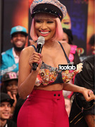 Nicki Minaj Has Another Live TV Nip-Slip!