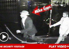 Mike Epps Club Brawl -- Security Footage Shows Comic Charging Heckler