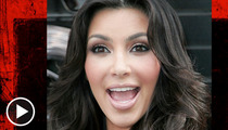 Kim Kardashian -- Boning Up on Peace in the Middle East