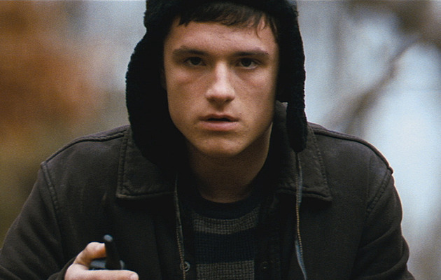 "Exclusive: Josh Hutcherson Introduces ""Red Dawn"" Clip"