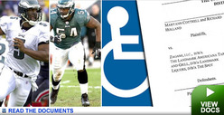 Suit Says NFLer McNabbed Disabled Kid&#039;s Space