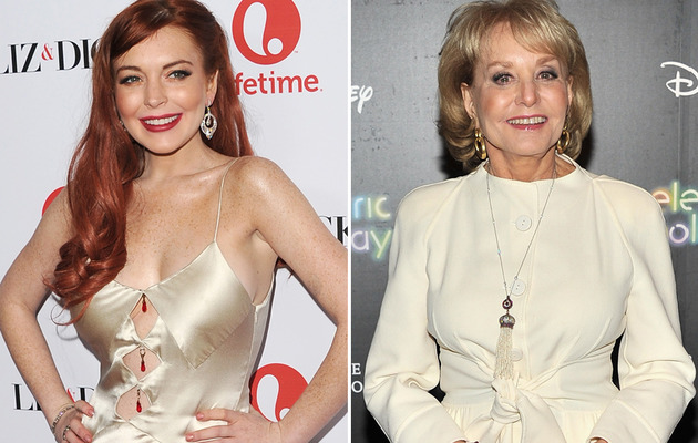 Lindsay Lohan On Her Barbara Walters Diss and New Half-Sis