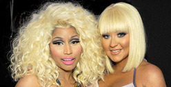 Nicki Minaj vs. Xtina -- Who&#039;d You Rather?