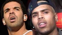 Chris Brown & Drake -- Off Scot-Free After Nightclub Brawl