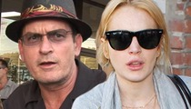 Charlie Sheen Paid Lindsay Lohan $100,000 to Cover Tax Debt