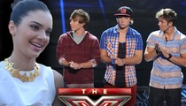 Kendall Jenner -- Shut Down By 'X Factor' Boy Band