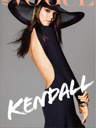 Kendall Jenner Covers Miss Vogue -- And Kim's Jealous!