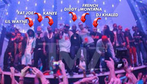 Lil Wayne -- Clubbin' with Kanye, Diddy, Busta and Fat Joe