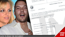 Britney Spears & Kevin Federline -- REUNITED ... Over Taxes